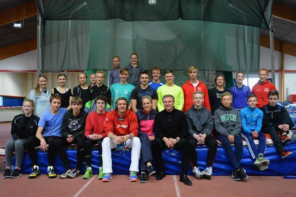 The IAAF Ambassador Kids' Clinic in Copenhagen (Getty Images)