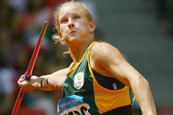 South African javelin thrower Justine Robbeson (Getty Images)