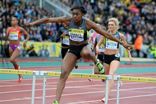 Perri Shakes-Drayton heading for a big PB in Crystal Palace (Mark Shearman)