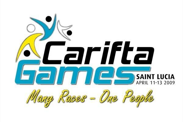 2009 CARIFTA Games logo (LOC)