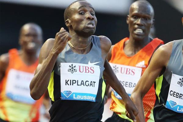 Kenya's Silas Kiplagat wins in Lausanne (Gladys Chai von der Laage)