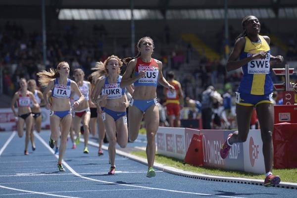 Abeba Aregawi takes the 1500m at the European Team Championships (Getty Images)
