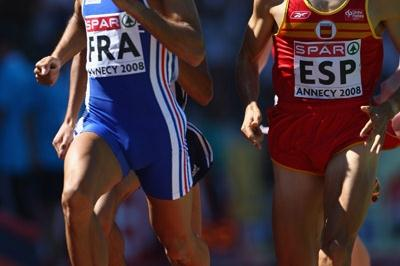 Mehdi Baala takes the 1500m in Annecy (Getty Images)