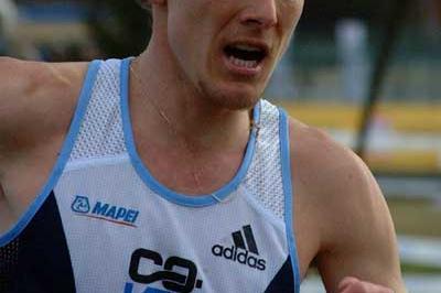 Sergiy Lebid running in the Campaccio (Lorenzo Sampaolo)