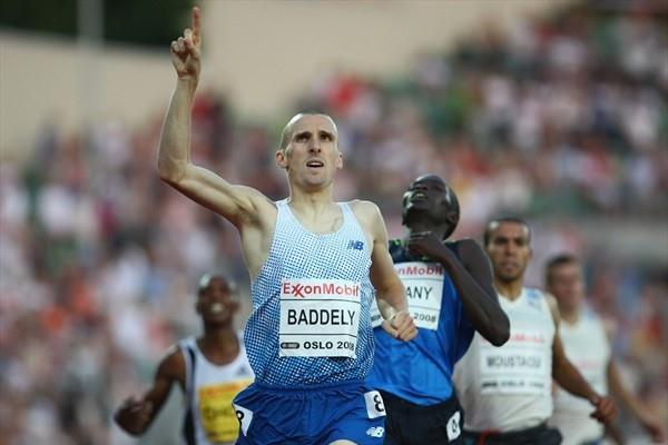 Andy Baddeley taking Oslo's Dream Mile in 2008 (Getty Images)