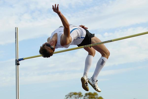 Brandon Starc, winner of the men's High Jump at the Australian Championships (Getty Images)
