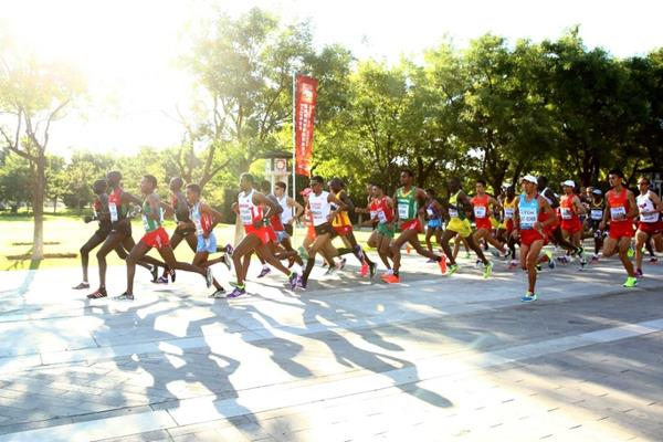 The men's marathon at the IAAF World Championships, Beijing 2015 (Getty Images)