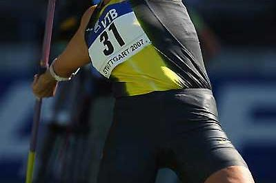 Barbora Spotakova (CZE) - 67.12m national record in Stuttgart (Getty Images)