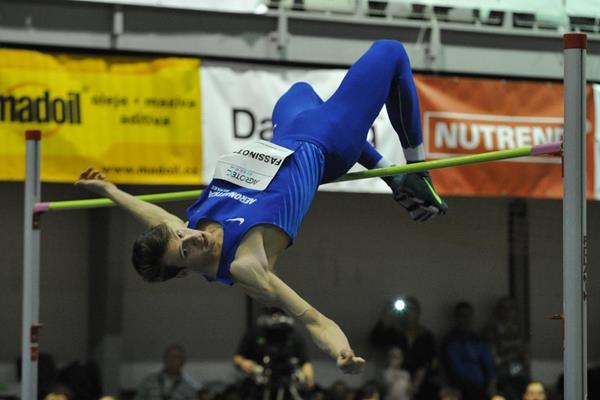 Marco Fassinotti at the 2015 Moravia High Jump Tour event in Hustopece (Juraj Vitko - organisers)