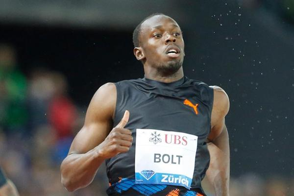 Another 200m victory for Usain Bolt, this time at the 2012 Diamond League meeting in Zurich (Gladys Chai van der Laage)