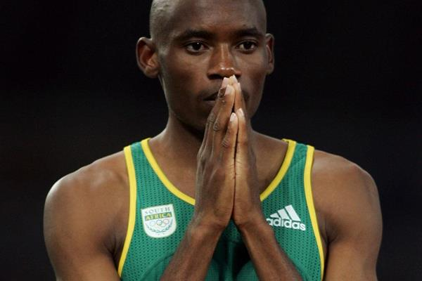 South African 800m runner Mbulaeni Mulaudzi (Getty Images)