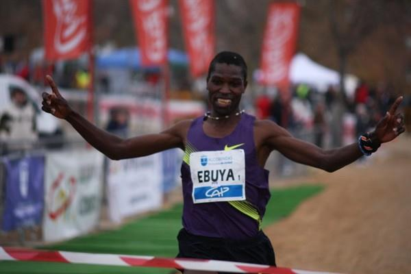 Another comfortable victory for Joseph Ebuya, this time in Alcobendas (Alfambra Fundación ANOC)