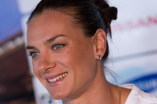 Yelena Isinbayeva in Monaco (Philippe Fitte)