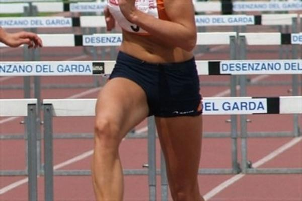 Dutchwoman Dafne Schippers the surprise day 1 leader in Desenzano del Garda (Lorenzo Sampaolo)