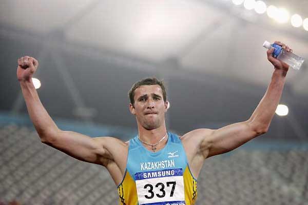 Dmitriy Karpov of Kazakhstan, the Asian Games Decathlon winner (Getty Images)