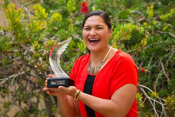 2014 World Athlete of the Year Valerie Adams (Philippe Fitte / IAAF)