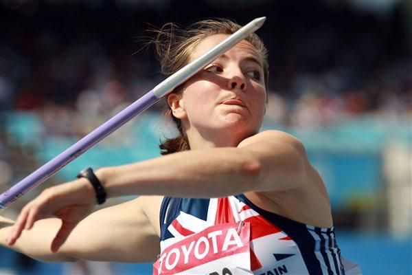 Goldie Sayers of Great Britain qualifies for the women's Javelin Throw final (Getty Images)