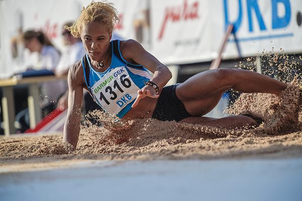 German long jumper Alexandra Wester (Getty Images)