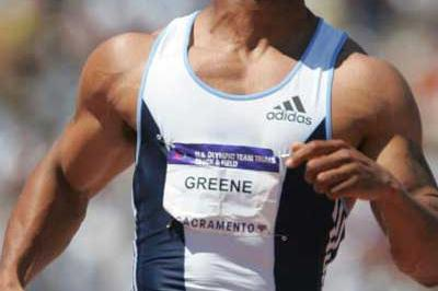 Maurice Greene - 9.91 at US Trials (Getty Images)