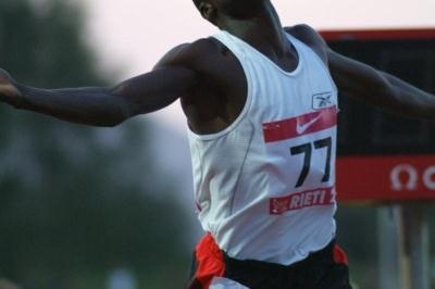Edwin Soi wins in Rieti (Lorenzo Sampaolo)