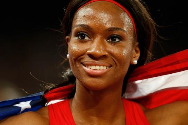 400m hurdles bronze medallist Cassandra Tate at the IAAF World Championships, Beijing 2015 (Getty Images)