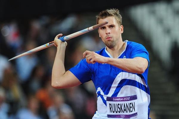 Finland's Antti Ruuskanen in action at the London 2012 Olympic Games (Getty Images)