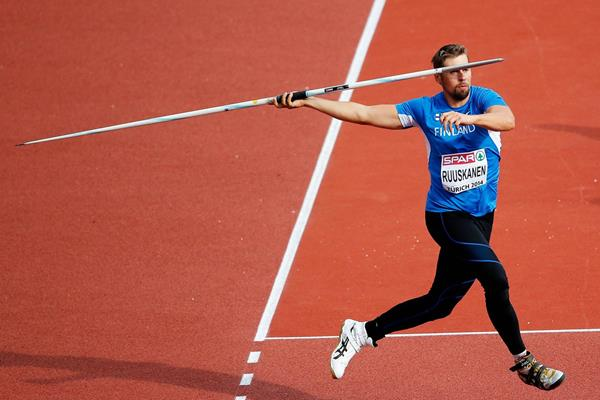 Antti Ruuskanen, winner of the javelin at the European Championships (Getty Images)