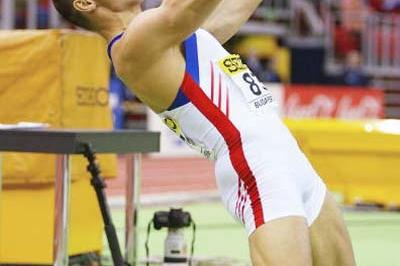 Roman Sebrle (CZE) in the men's Heptathlon (Getty Images)