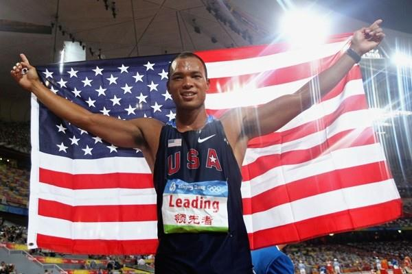 Bryan Clay, wins the men's Olympic decathlon title with the largest winning margin since 1972 (Getty Images)