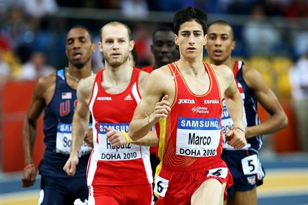 Luis Alberto Marco of Spain during the 800m Semi-Final (Getty Images)