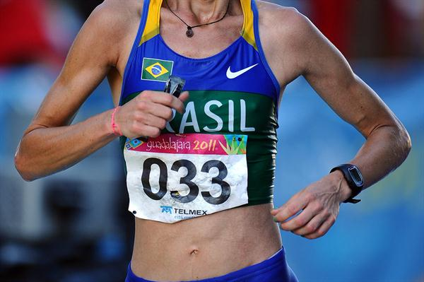 Adriana da Silva beats the Guadalajara heat and altitude to take the Pan American Marathon title (Getty Images)