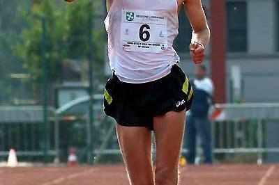 Erik Tysse of Norway wins the men's 20km in Sesto San Giovanni (Lorenzo Sampaolo)