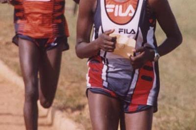 Alice Timbilill at the High School Rift Valley Championships (David Macharia)