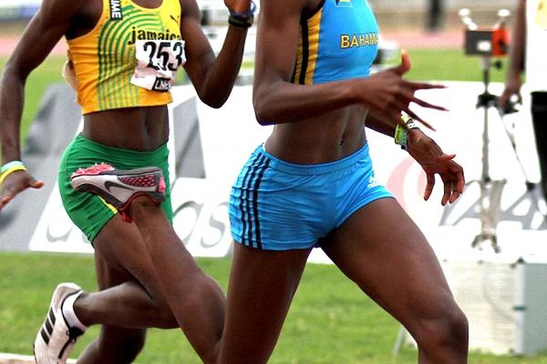 Anthonique Strachan adds the 200m title to her 100m triumph in Montego Bay (Dean Greenaway)