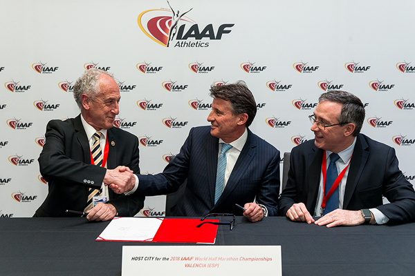 Valencia is awarded the 2018 IAAF World Half Marathon Championships (Philippe Fitte / IAAF)