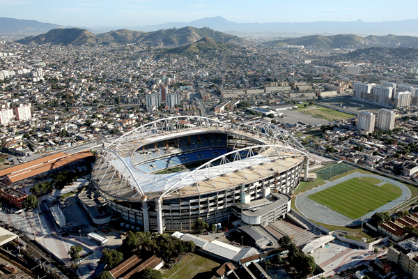 Rio Olympic Stadium, venue of the athletics at the Rio 2016 Olympic Games (Getty Images)