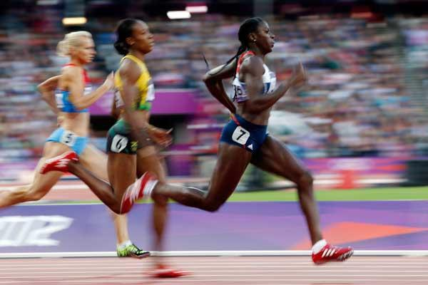 400m image used in IAAF Disciplines section (Getty Images)