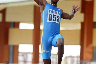Panamanian Irving Saladino long jumping - Belem (Wander Roberto Oliveira/CBAt)