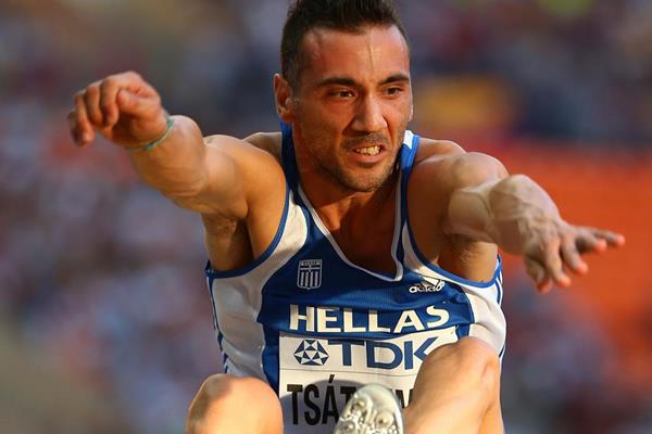 Greek long jumper Louis Tsatoumas (Getty Images)