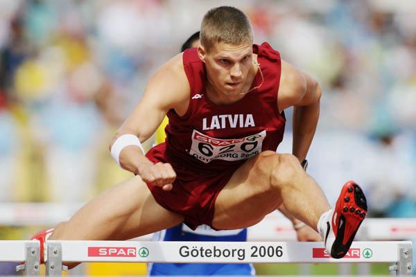 Stanislav Olijar en route to a commanding win in Gothenburg (Getty Images)