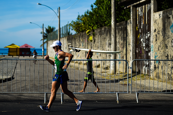 Samir Cesar Sabadim in the 50km at the Brazil Race Walk Cup in Rio (Getty Images)