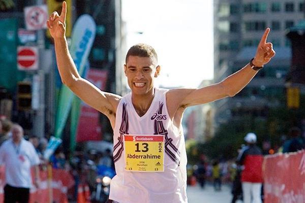 Abderrahime Bouramdane, winner of the 2006 Scotiabank Toronto Marathon (Organisers)