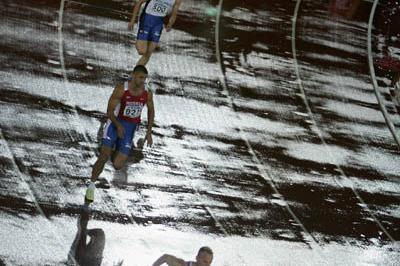 Roman Sebrle in the Decathlon's 400m (Getty Images)
