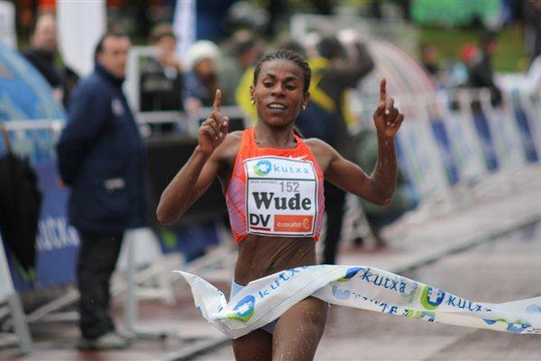 Wude Yimer winning in Elgoibar (Alfambra Fundación ANOC)