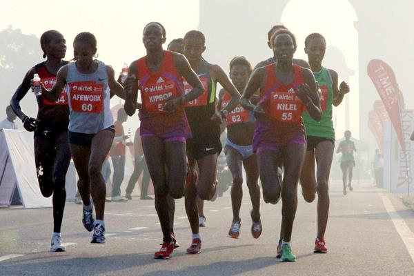 Women's elite field in Delhi (Organisers)