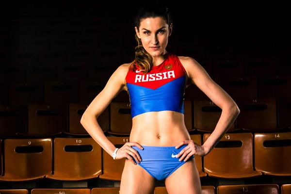 Russia's Anna Chicherova (SPIKES)