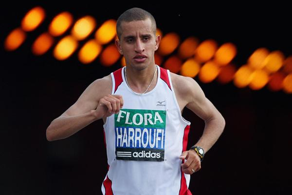 Marathon runner Ridouane Harroufi of Morocco (Getty Images)