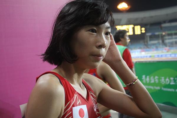Nana Fujimori at the 2013 Asian Youth Games (David Tarbotton)