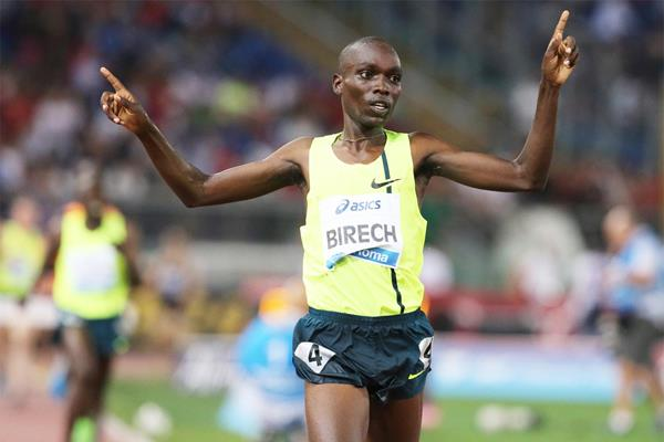 Jairus Birech, a surprise winner of the 3000m steeplechase at the IAAF Diamond League meeting in Rome (Gladys Chai von der Laage)
