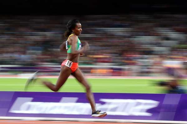 10000 metre image used in IAAF Disciplines (Getty Images)